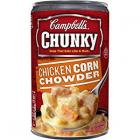 CAMPBELL\'S CHUNKY CHICKEN CORN CHOWDER SOUP 533G