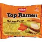 NISSIN TOP RAMEN CHICKEN FLAVOR NOODLE SOUP