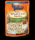 UNCLE BEN'S QUINOA & BROWN RICE WITH GARLIC 240G