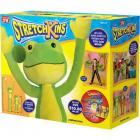 Stretchkins Jumping Frog Life-size Plush Toy That You Can Play, Dance, Exercise and Have Fun With by Stretchkins