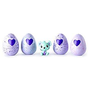 Hatchimals CollEGGtibles Season 1 - 4-Pack + Bonus (Styles & Colors May Vary) by Spin Master
