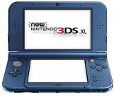 Nintendo NEW 3DS XL NTSC VERSION (Metallic Blue) with 50 free DS Games