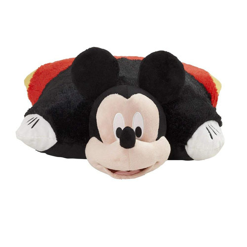"Pillow Pets Disney, Mickey Mouse, 16"" Stuffed Animal Plush"