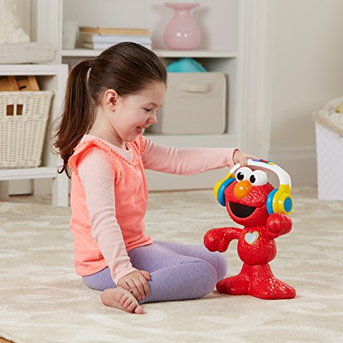 Sesame Street Let\'s Dance Elmo: 12-inch Elmo Toy that Sings and Dances, With 3 Musical Modes, Sesame Street Toy for Kids Ages 18 Months and Up