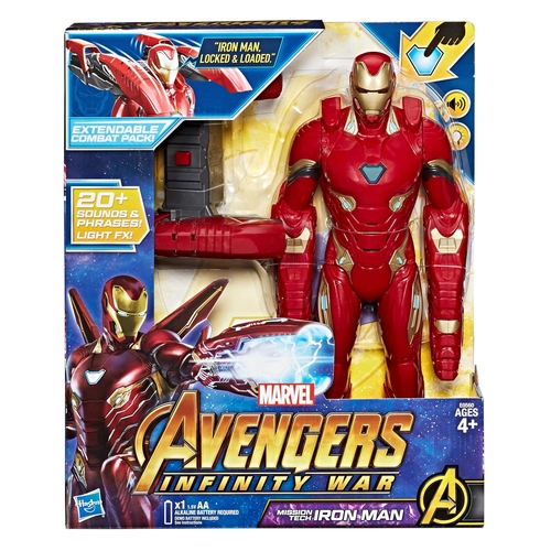 Marvel Avengers: Infinity War Mission Tech Iron Man Figure