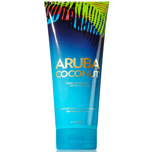 Bath & Body Works Aruba Coconut Triple Mositure Body Cream 8OZ/226G
