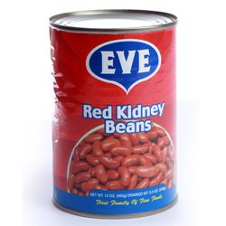 EVE Red Kidney Beans - 14 OZ. (400g)