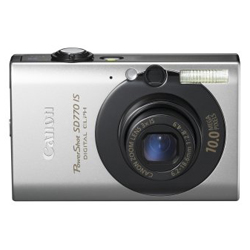 Canon PowerShot SD770IS 10MP Digital Camera with 3x Optical Image Stabilized Zoom (Black)
