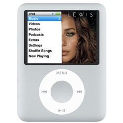 iPod Nano 8GB Silver (3rd Generation)