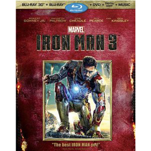 Iron Man 3 (Three-Disc Blu-ray 3D / Blu-ray / DVD + Digital Copy) (2013)