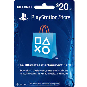 $20 PlayStation Store Gift Card - PS3/ PS4/ PS Vita [Digital Code] (PSN)