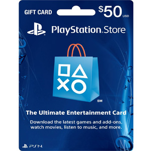 $50 PlayStation Store Gift Card - PS3/ PS4/ PS Vita [Digital Code]  (PSN)