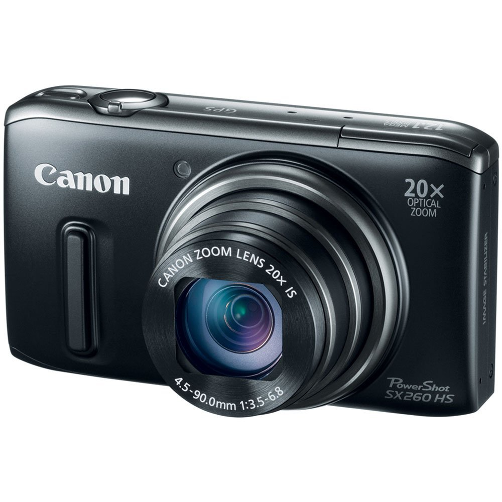 Canon Power Shot SX260 HS Digital Camera (Black) (New)