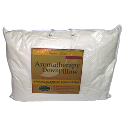 Snore-Less Aromatherapy Down Pillow