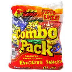 Sunshine Snacks Combo Pack