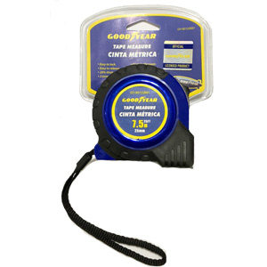Goodyear 7.5M Tape Measure (25 ft) - Measuring Tape