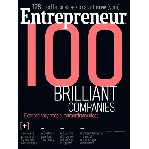 Entrepreneur Magazine: June 2015
