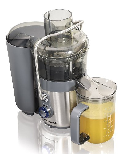 Hamilton Beach Premium Big Mouth 2 Speed Juice Extractor with Easy Sweep Cleaning Tool (67850)