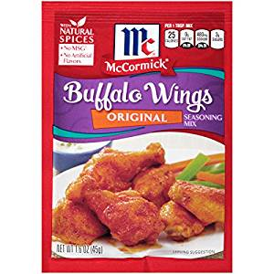 McCORMICK BUFFALO WINGS ORIGINAL 45G