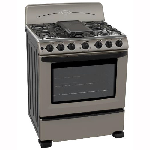 CETRON 30 Inch Gas Range Stainless Steel Top Stove - Silver (Rent-to-Own)