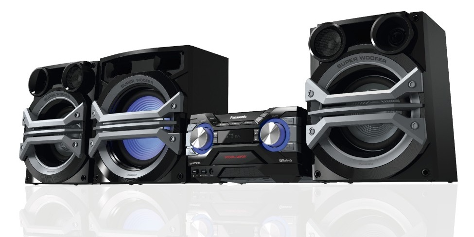 PANASONIC SC-AKX800PNK Music System 1800W Stereo (Rent-to-Own)