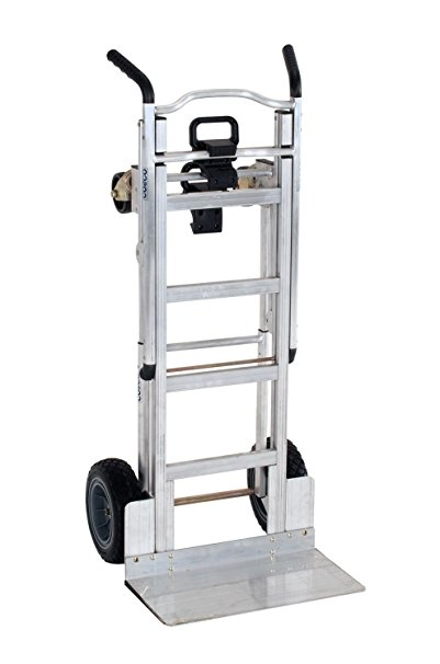 Cosco 3-in-1 Aluminum Hand Truck/Assisted Hand Truck/Cart w/ flat free wheels (Rent to Own)
