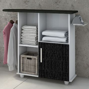 Ironing Board with Storage Cabinet