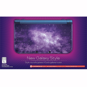 Nintendo Galaxy Style Nintendo New 3DS XL Console (with 50 DS Games)