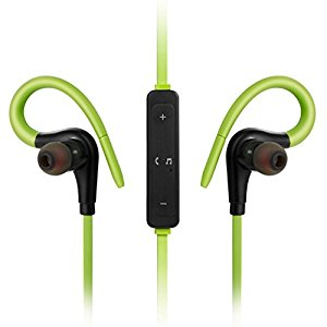 Bluetooth Headphones, Best Wireless Sports Earphones w/ Mic Headsets Noise Canceling Stereo Earbuds for Gym Running Workout