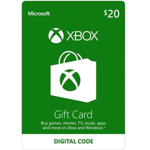 Xbox $20 Gift Card