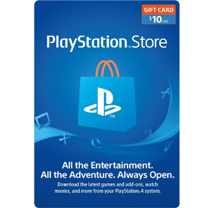 $10 PlayStation Store Gift Card - PS3/ PS4/ PS Vita [Digital Code] (PSN)