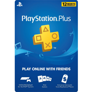 1 Year PlayStation Plus Membership Gift Card - PS3/ PS4/ PS Vita [Digital Code] (PSN)