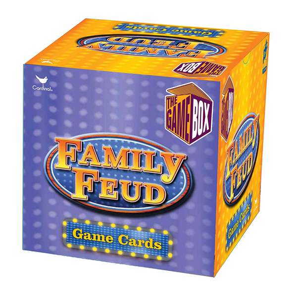 Family Feud Trivia Box Card Game  (RENT)