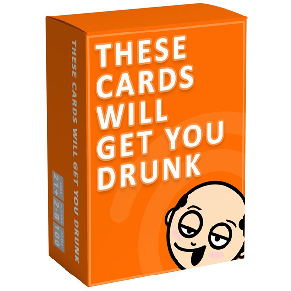 These Cards Will Get You Drunk - Fun Adult Drinking Game For Parties  (RENT)