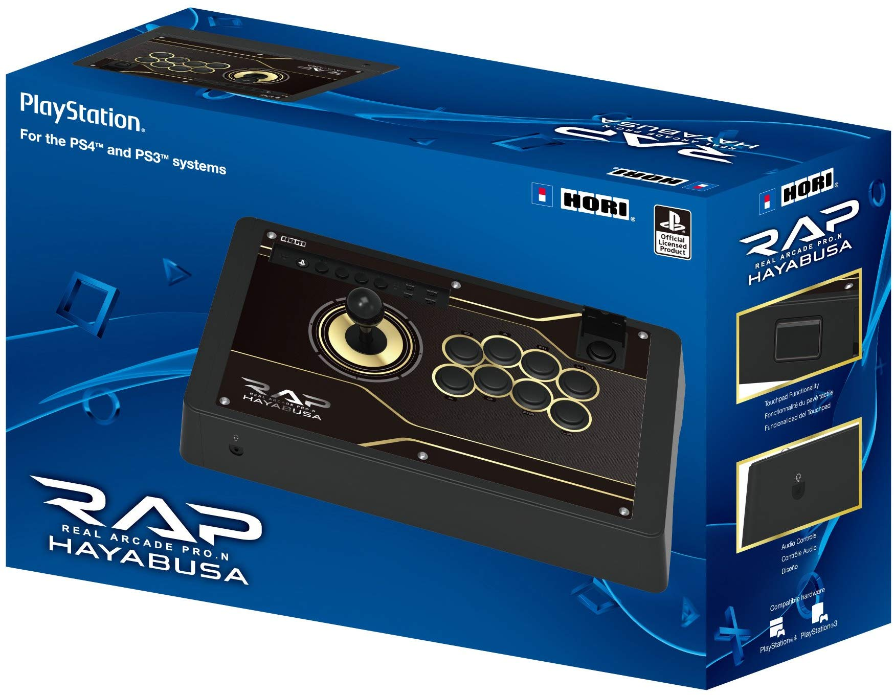 HORI Real Arcade Pro N Hayabusa Arcade Fight Stick for PlayStation 4 and PlayStation 3