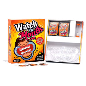 Watch Ya\' Mouth Family Edition - The Authentic, Hilarious, Mouthguard Party Card Game