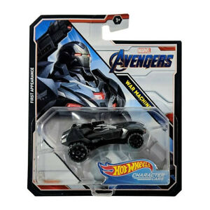Hot Wheels Marvel Avengers War Machine Character Cars