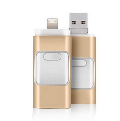 USB Flash Drive, Disk Storage Memory Stick For iPhone, iPad, PC, Android, iOS, 128GB