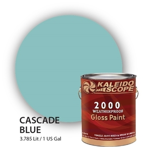 2000 Weatherproof Gloss (Cascade Blue)