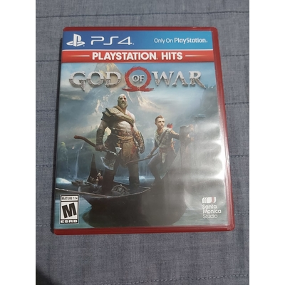 PS4 GOD OF WAR (PRE OWNED)
