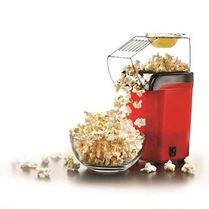 Brentwood 8-Cup Hot Air Popcorn Maker, Red