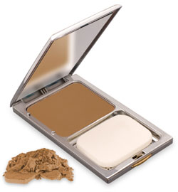 Compact Face Powder - Perfect Honey