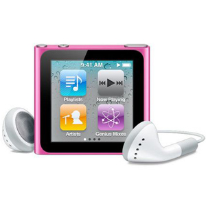 Apple iPod Nano 8GB (6th Generation) Pink - Older Model
