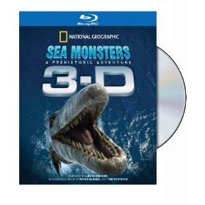 National Geographic: Sea Monsters - A Prehistoric Adventure (In 3-D) (Blu-ray)
