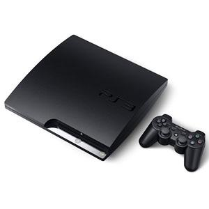 Modified Slim Playstation 3 Console with 4 latest games (PS3)