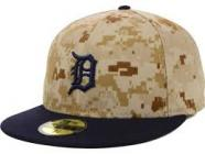 Detroit Tigers Fitted 7 3/8