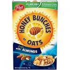 POST HONEY BUNCHES OF OATS CRISPY WITH ALMONDS 411G