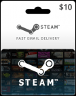 $10 Steam Game Card (Digital Code)