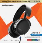 SteelSeries Arctis 3 Bluetooth (2019 Edition) Wired and Wireless Gaming Headset for Nintendo Switch, PC, Playstation 4, Xbox One, VR, Android and iOS - Black