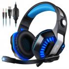 Muzili Gaming Headset,7.1 Stereo Gaming Headphone for PC,PS4,Xbox One,Ipad,Mobile Phone,Noise-Cancelling Headset and Mic